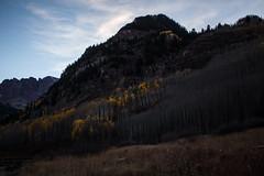 IMG_7982a (markbyzewski) Tags: mountain lake twilight colorado aspen maroonbells