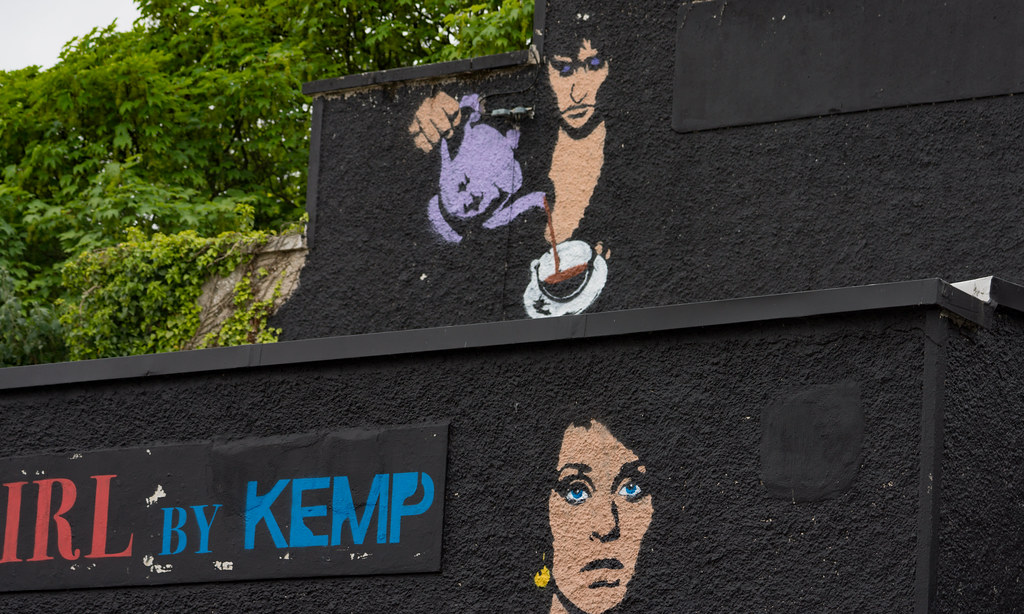 ABOUT A GIRL BY KEMP [WATERFORD WALLS PROJECT AT NEWGATE STREET]-116358