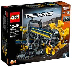 LEGO Technic 42055 box (hello_bricks) Tags: lego technic legotechnic 42054 42053 42055