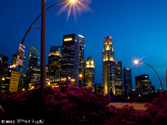 night_2 (Squall EC) Tags: river hotel bay flyer singapore esplanade mbs marinabay raffleshotel singaporeflyer marinabaysands