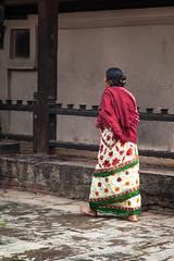 Temple Attendant (Mark S Weaver) Tags: kathmandu nepa