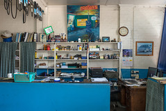 Footscray (Westographer) Tags: painting office douglass australia melbourne oldschool workplace mechanics footscray westernsuburbs
