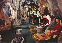 In a Hole in the Ground... (Goran Patlejch) Tags: hotelprag kitsch postcard serbia hotel lounge bar people music fake cave mock 1960s goenetix gntx patlejch patlejh outlawscave hajdukapeina hajduckapecina