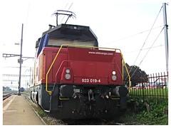 SBB CFF FFS Cargo, Eem 923 019-4 (v8dub) Tags: railroad train schweiz switzerland suisse 4 eisenbahn railway zug loco sbb cargo locomotive bahn treno 019 trein ffs lokomotive lok eem cff rangierlok chavornay 923 abstellgleis rangier