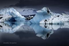 Jkursrln  III Iceland (Joseba Grajales) Tags: blue mountain cold reflection ice water azul wow landscape lago iceland islandia agua nikon paisaje iceberg montaa frio hielo reflejos jkursrln nikond750