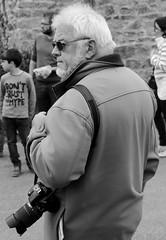 Photographer (patrick_milan) Tags: street camera people blackandwhite bw white black monochrome noir photographer noiretblanc bretagne nb britanny rue blanc personne streetview gens finistre plouguin