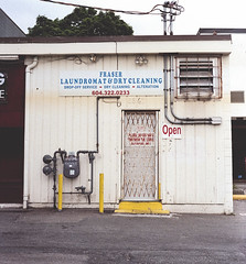 Fraser Laundromat (rosshj) Tags: color colour film analog 35mm pie nikon ishootfilm scan 35mmfilm fm3a 400iso thelab nikonfm3a colornegative kodakportra400 beauphoto kodakportra nikon50mmf18d nikon50mm18d vuescan nikon50mm primefilm primefilmxe