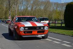 Chevrolet Camaro Z28 1967 (Monde-Auto) Tags: auto orange france chevrolet tour camaro course coup z28 courances comptition automoto