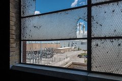 New from Old (BB ON) Tags: urban toronto ontario canada brick abandoned broken window glass electric industrial power decay gas hydro electricity powerplant coal hearn luminato portlandsenergycentre