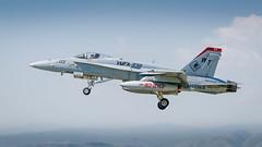 Marine Hornet Gear-up (jhooten1973) Tags: aircraft hornet warbirds flyin jeffco jaa generalaviation f18c marineaviation rockymountainmetropolitanairport modernmilitary jeffcoaviatationassociatation