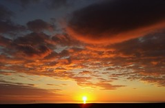 Scottish Coast Sunrise at Oxwellmains (Gilli8888) Tags: sunrise torness dunbar scotland coast coastline sun sea seaside clouds oxwellmains northsea