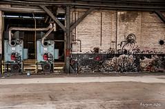 Heating zone (ericbaygon) Tags: urban abandoned nikon factory belgium belgique tag heat heating usine urbex chauffage hainaut nikonpassion d300s