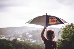 Rain (minzemond) Tags: girl rain umbrella spring rainyday wether