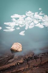 Rock and ice (ckocur) Tags: patagonia ice southamerica argentina nationalpark glacier peritomoreno elcalafate icefield southernpatagonia