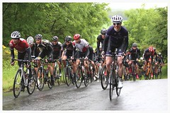 Second Time up the Climb. (Paris-Roubaix) Tags: road bicycle club race scottish racing national championships veterans falkirk stirlingshire bicicyle