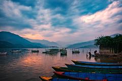 Phewa Lake in Pokhara, Nepal (CamelKW) Tags: nepal lake pokhara phewa 2016 everestpanorama