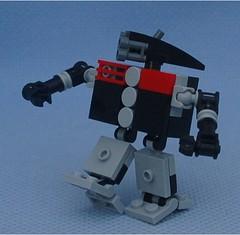 Fido (Mantis.King) Tags: lego scifi futuristic mecha wargames mech moc microscale legomecha mechaton mfz mf0 mobileframezero legogaming orphanbuild