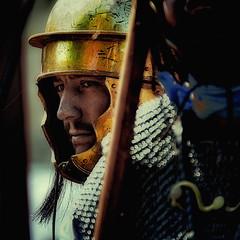 Roman Gladiator (COLINA PACO) Tags: portrait soldier retrato soldiers ritratto soldado gladiator soldados legin gladiador romangladiator legionromana