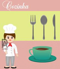 Cozinha (dayarakelly) Tags: cozinha vetor dayarakelly vectorcozinha chefgoumet