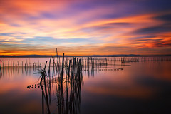 A wonderful world (Anto Camacho) Tags: longexposure sunset sky lake seascape water valencia atardecer bravo colours land waterscape albufera bigstopper