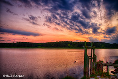 Sunset at HBSP (BillBarberPhoto) Tags: statepark clouds canon golden hour billbarber sunrisesunsetsaroundworld ricetrunk discoversc