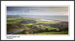 Chesil Beach Towards Portland (Chalky666) Tags: panorama seascape painterly beach landscape abbotsbury portlandbill
