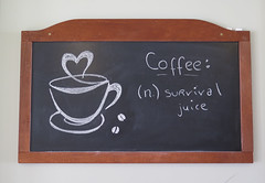 Coffee: (Katie_Russell) Tags: ireland cup coffee chalk cafe northernireland ni chalkboard koko blackboard ulster portrush nireland countyantrim norniron cuppa coantrim