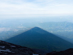 IMG_477920160612 (Zac Li Kao) Tags: shadow mountain japan canon volcano fuji hiking hike powershot climbing crater fujisan g1x