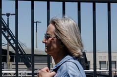 Mrs Bennett-Dinda (joeldinda) Tags: family vacation sky cloud up june fence nikon crane michigan lawn joan greatlakes relatives soo upperpeninsula saultstemarie sault soolocks d300 2016 constructionequipment jpb 3148 nikond300