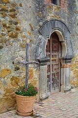 Welcome  (Explored 6/15/16. Thank You!) (tommyleonard777) Tags: church sanantonio cross mission