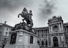 Prinz Eugen von Savoyen (ManuelHurtado) Tags: countries places architecture art artistic austria austrian building capital decorated equestrian europe european historic history hofburg horse landmark library monument national old ornamented person prince savoy sculpture sightseeing statue vienna wien at
