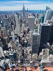 Island of Manhattan, New York City (jag9889) Tags: 2016 20160614 aerialview architecture building deck esb empirestatebuilding house landmark manhattan midtown ny nyc newyork newyorkcity observation observatory outdoor rockefellercenter rockefellerplaza skyscraper topoftherock usa unitedstates unitedstatesofamerica jag9889