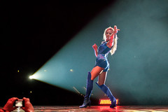 HFT2014-01-04 (frank.goellisch) Tags: blue leather highheels tour boots stretch arena plastic helene overknee pvc thighboots 2014 colorplay highboots jackboot helenefischer neveraired cavalierboot