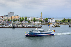 Warnemunde (dietmar-schwanitz) Tags: lighthouse water germany deutschland boat warnemnde wasser ship schiff rostock leuchtturm lightroom hotelneptun dietmarschwanitz nikond750 nikonafsnikkor24120mmf40ged