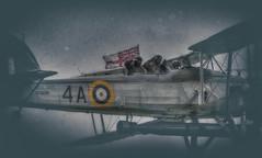 Fairey Swordfish Mk1 (nigdawphotography) Tags: plane airplane fly war fighter aircraft aeroplane ww2 fairey torpedo pilot biplane swordfish w5856