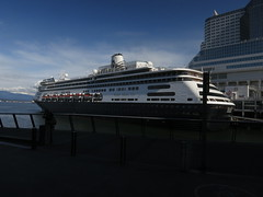 IMG_2637 (sevargmt) Tags: vancouver bc british colombia canada cruise ncl norwegian pearl may 2016 downtown place holland america volendam ship