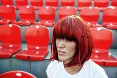 fox (Tati___Tata) Tags: red woman girl fashion sport russia moscow fox shooting freckles redhair