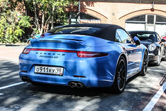 Russia (St. Petersburg) - Porsche 991 Carrera 4S Cabriolet (PrincepsLS) Tags: berlin st germany russia plate petersburg 98 porsche license russian spotting 4s carrera cabriolet 991