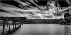 Moving clouds (Marc Backes Photography) Tags: bw blackandwhite blancetnoir schwarzweiss long exposure longexposure