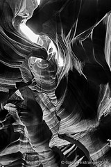Antelope Canyon 3 (garylestrangephotography) Tags: light arizona blackandwhite usa white abstract black texture tourism monochrome animal rock stone blackbackground dark landscape grey mono blackwhite nationalpark hands pattern outdoor indian surreal wave monotone tourist serene touristattraction reservation slotcanyon antelopecanyon navajonation touristdestination touristlocation garylestrangephotography