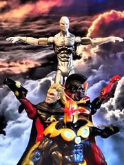 Thanos Imperative (Dizin Dat) Tags: nova actionfigure silversurfer gladiator marveluniverse quasar 4inch