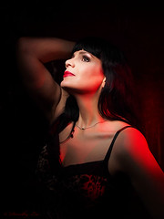 x160605-018 (dorothylee) Tags: dorothyleephotographyphotography photography photo photograph selfportrait selfie portrait portraits portraiture color colour colorful colourful redlight blackhair fashion fashionphotography glamour