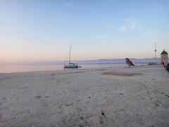 Bol early morning at the harbour (20denier) Tags: morning sea bird sunrise boat croatia bol bra
