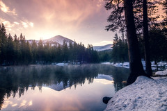 Glorious Sunrise (mnlphotography) Tags: snow mountains nature forest sunrise canon landscape tokina yosemite 7d tokina1224mm tokinaaf1224mmf4 7dmarkii 7dmark2