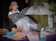 Stalls in the Rain