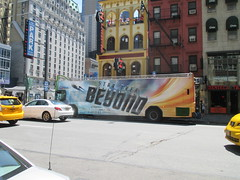 Star Trek Beyond - The Bus 2160 (Brechtbug) Tags: show street new york city nyc fiction bus film television trek computer movie poster star tv jj theater mr theatre manhattan district space rip ad broadway science double billboard midtown sidewalk ave captain spock scifi series beyond anton 1960s avenue abrams 8th futuristic kirk generated 45th decker the 2016 standee standees yelchin 07042016