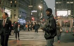 West 33rd St (Chee917) Tags: newyorkcity manhattan midtown 180 madisonsquaregarden pennstation 7thavenue 33rdstreet 4 canonpowershots100 iso2500 lightroom4