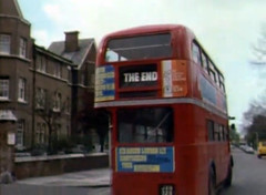 The End bus (Dill Pixels) Tags: cinema bus film television movie tv humor theend bbc doubledecker londonbus montypythonsflyingcircus endtitle