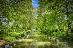 Le canal ... (ELSUEC ...) Tags: people france art photo raw sony midi fr hdr canaldumidi suec