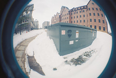 R1-05378-021A (tabi_is_rad) Tags: camera fish eye film face lens graffiti illinois paint university state spray